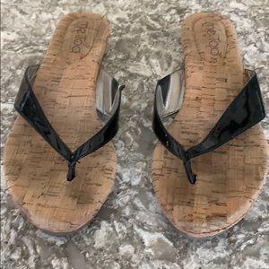 Me too flip flops size 6